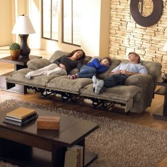 Triple Reclining Sofa Bench With Storage Voyager Lay Flat Catnapper 1 Reviews