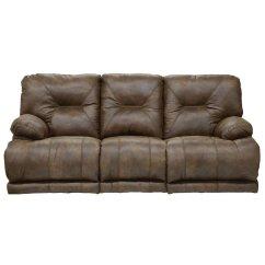 Voyager Lay Flat Triple Reclining Sofa Victorian Sofas Designs (elk) Catnapper ...