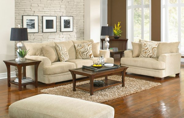 Crompton Sectional Set Latte Jackson Furniture 1 Cart