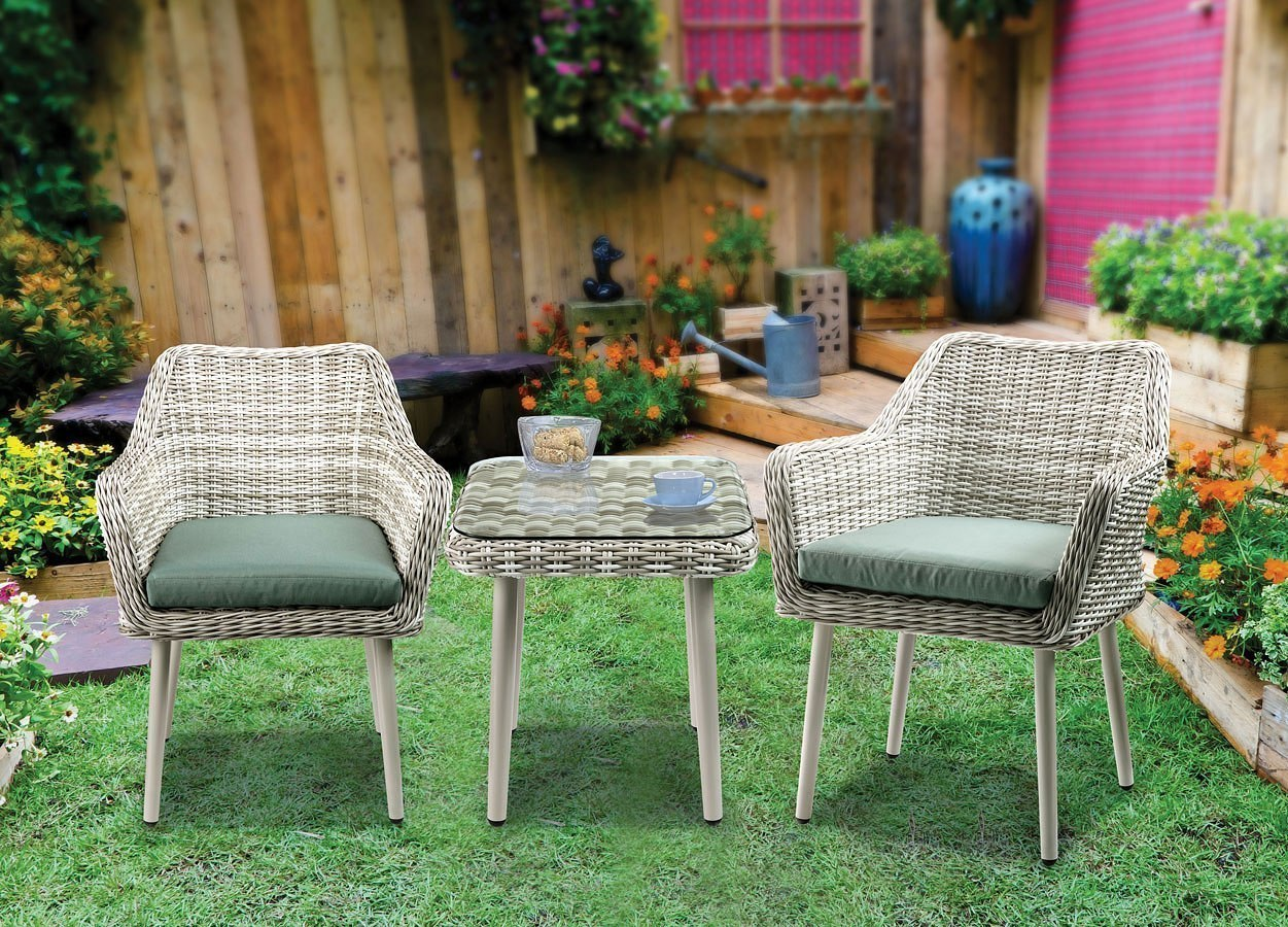Metal Bistro Table And Chairs Tashay 3 Piece Patio Bistro Set