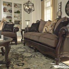 Vintage Living Room Sets Elegant Modern Rooms Winnsboro Durablend Set Signature Design 3
