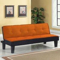 Hamar Sofa Bed (Orange) Acme Furniture | Furniture Cart