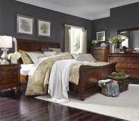 Rustic Traditions Sleigh Bedroom Set Liberty Furniture ...