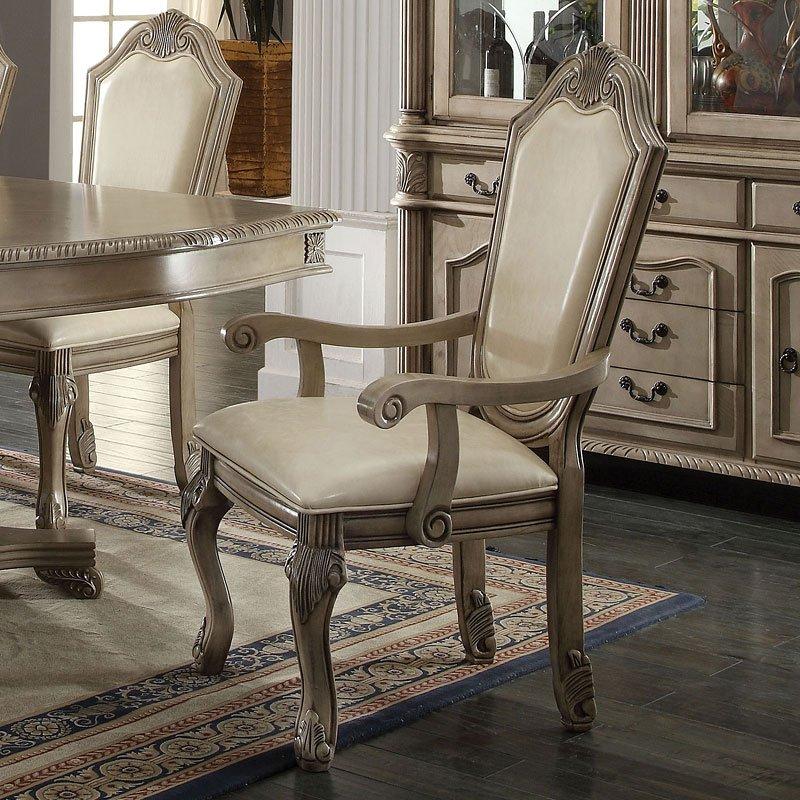Chateau De Ville Dining Room Set Antique White Acme