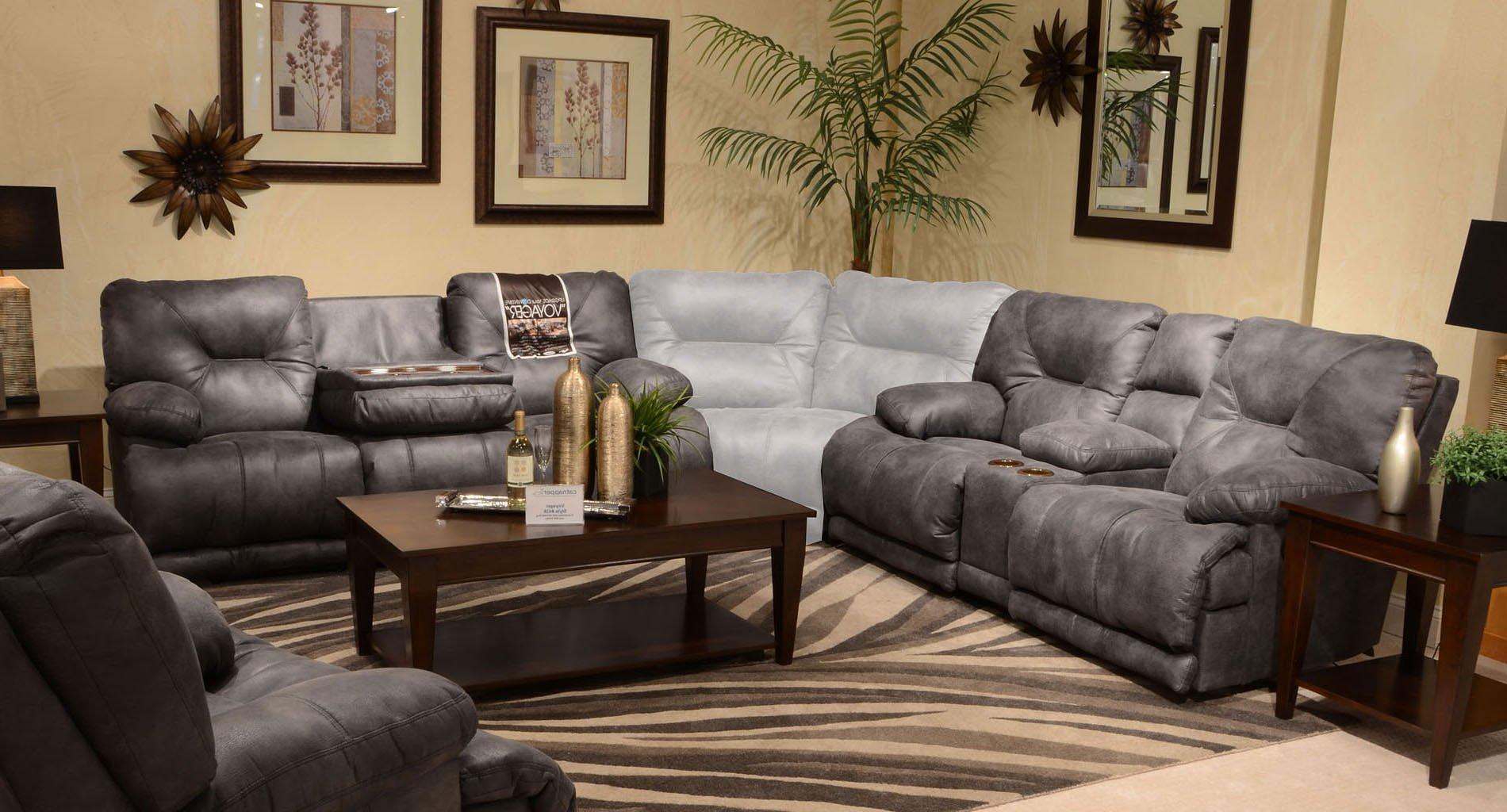 voyager lay flat triple reclining sofa most comfortable sofas australia power living room set slate catnapper