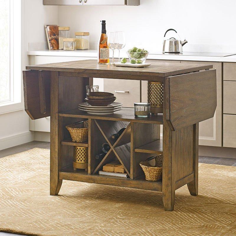 The Nook Kitchen Island Oak Kincaid Furniture 1 Reviews