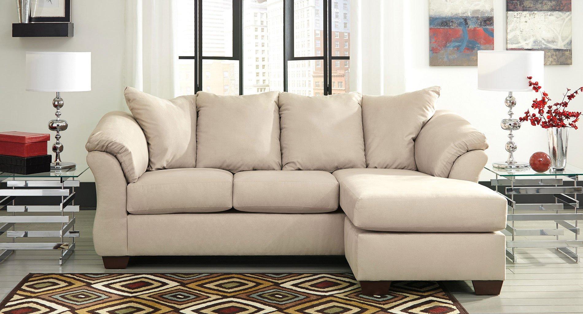 Darcy Stone Sofa Chaise Set Signature Design