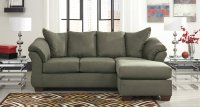 Darcy Sage Sofa Chaise Set Signature Design