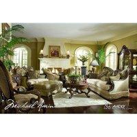 Chateau Beauvais Wood Trim Living Room Set Aico Furniture ...