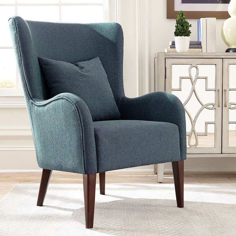 dark teal accent chair brumby company coaster furniture cart