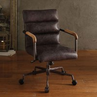 Harith Executive Office Chair (Antique Ebony) Acme ...