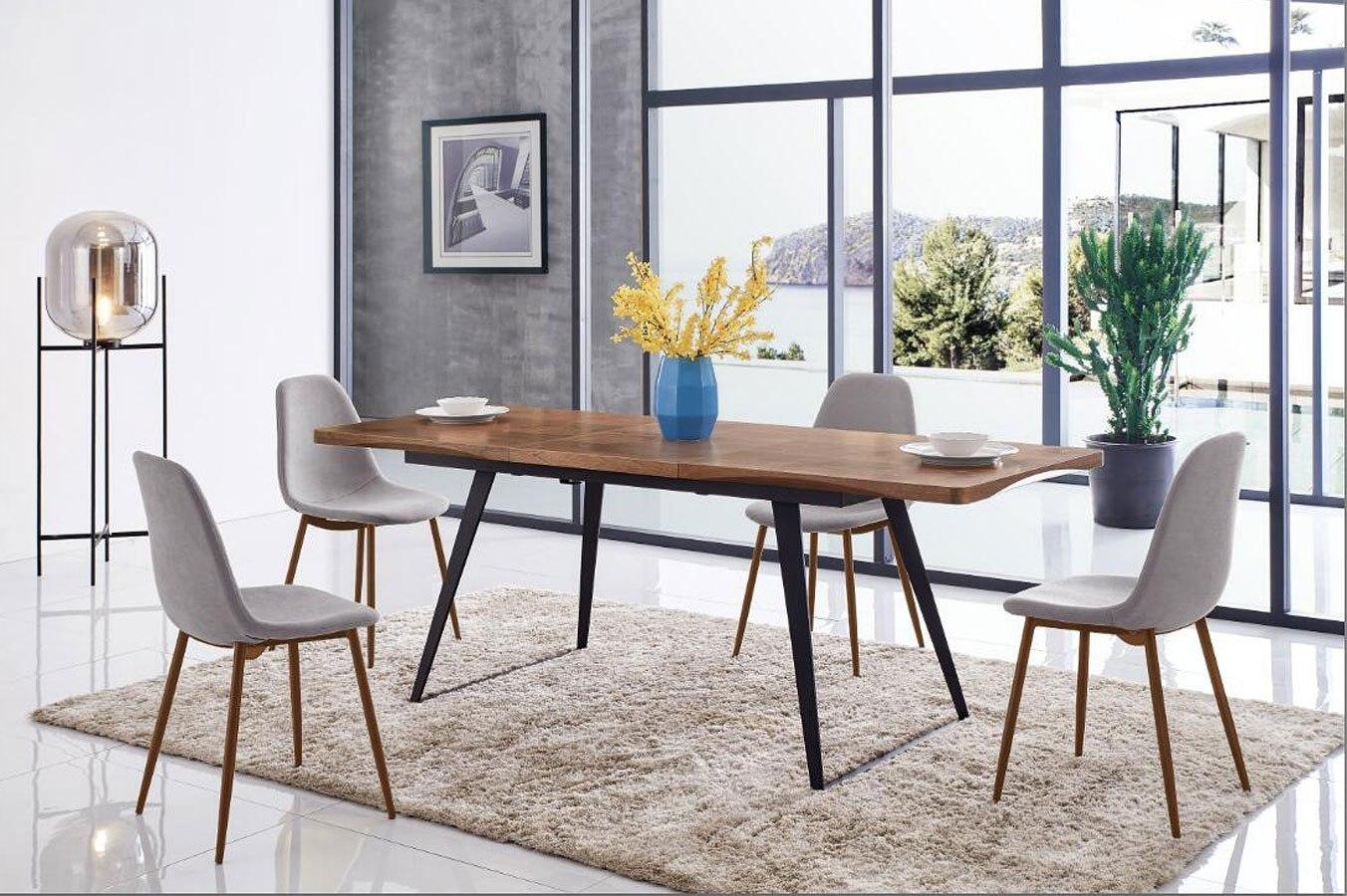 European 93 Extension Dining Room Set Esf Furniture Furniture Cart