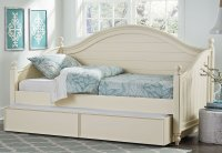 Camellia Daybed Bedroom Set (Marshmallow White) Standard ...