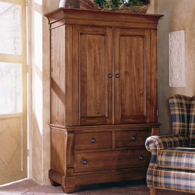 Tuscano Armoire Kincaid Furniture  Furniture Cart
