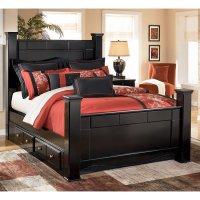 Shay Poster Bed Signature Design, 1 Reviews | Furniture Cart