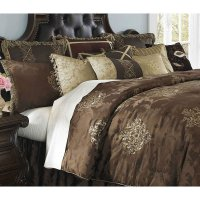 Highgate Manor Bedding Set Aico Furniture | Furniture Cart