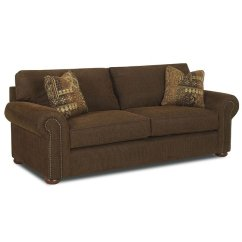 Sienna Sofa William S Home Furnishing Sectional Set With Ottoman Hinson Chestnut Klaussner Furniture Cart