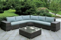 Morgana Outdoor L-shaped Sectional Set Furniture Of