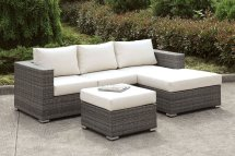 Somani Outdoor Small L-shaped Sectional Set Configuration