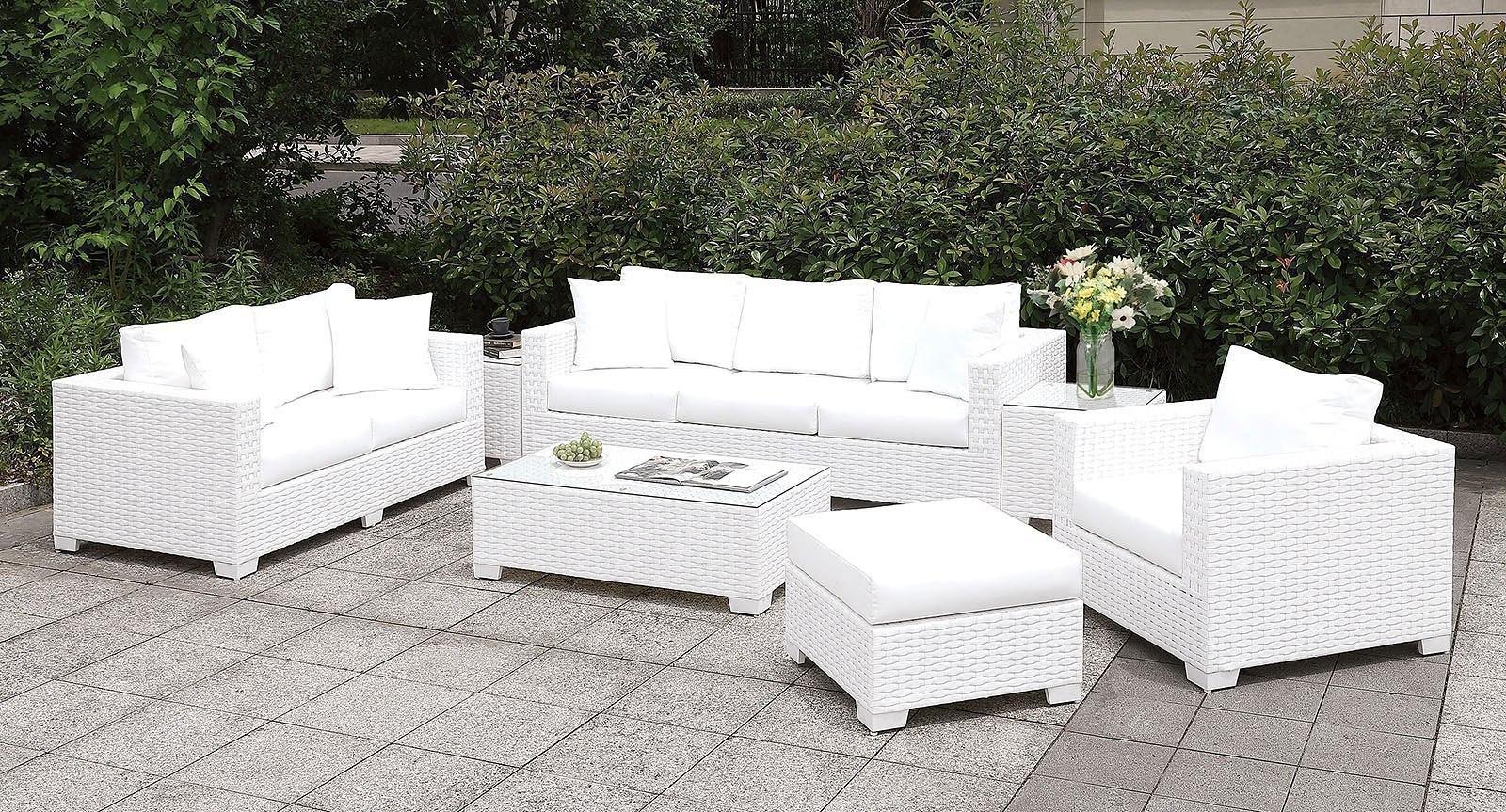 somani white outdoor seating set configuration 15