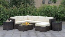 Ilona Outdoor Modular Sectional Set Furniture Of America