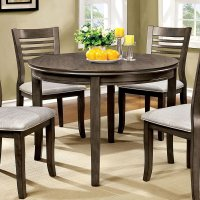 Dwight III 42 Inch Round Dining Table Furniture Of America ...