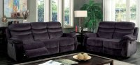 Leigh Reclining Living Room Set Furniture Of America ...