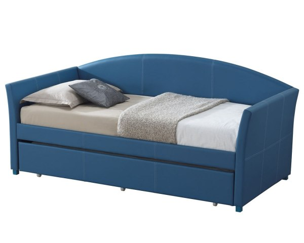 G2712 Blue Upholstered Daybed Glory Furniture Cart