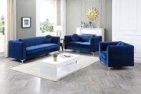 Delray Living Room Set (Navy Blue) Glory Furniture ...