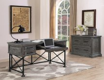Gramercy Park Home Office Set With Writing Desk Parker House