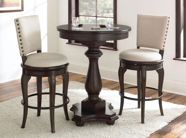 Leona Pub Table Set Steve Silver Furniture Cart