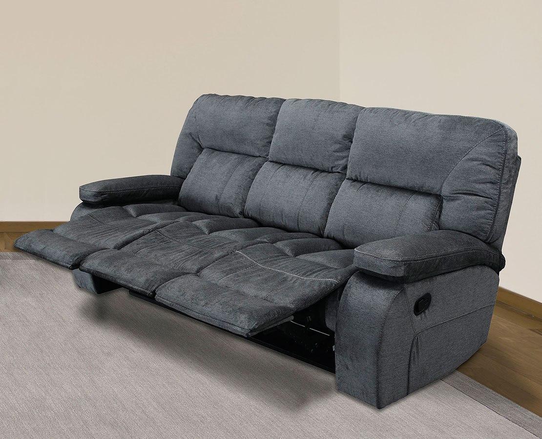 triple reclining sofa leopard chapman polo parker living