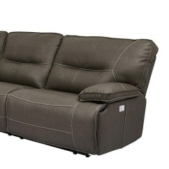Sofa Rph Traditional Indian Designs Spartacus Modular Power Reclining Sectional Set Haze Parker Living Right Recliner W Headrest By