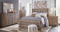 Willow Slat Bedroom Set (Weathered Grey) Progressive ...