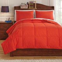 Plainfield Red Youth Comforter Set Signature Design ...