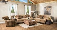 Arklow Living Room Set (Tan) Furniture Of America ...
