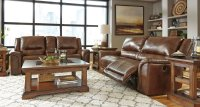 Jayron Leather Reclining Living Room Set Signature Design ...