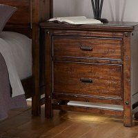 Wolf Creek Bookcase Bedroom Set Intercon Furniture