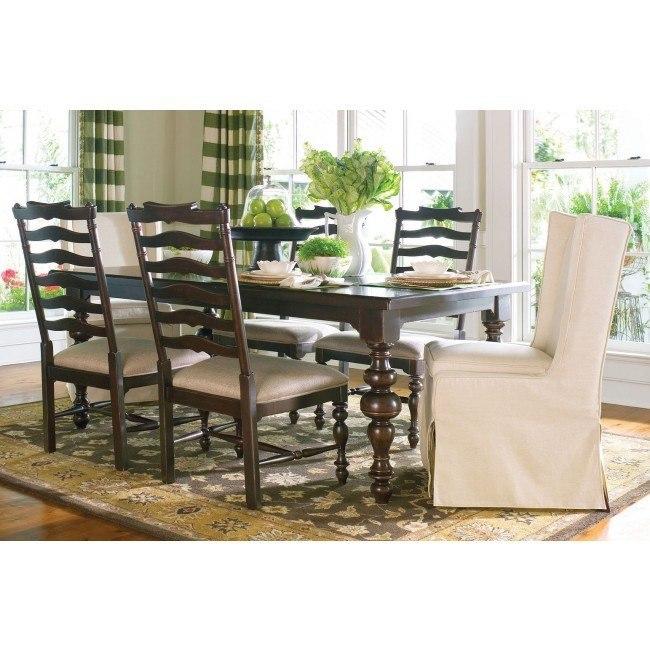 Paula Deen Home Paulas Dining Set W 2 Chair Choices Tobacco Paula Deen Home Furniture Cart