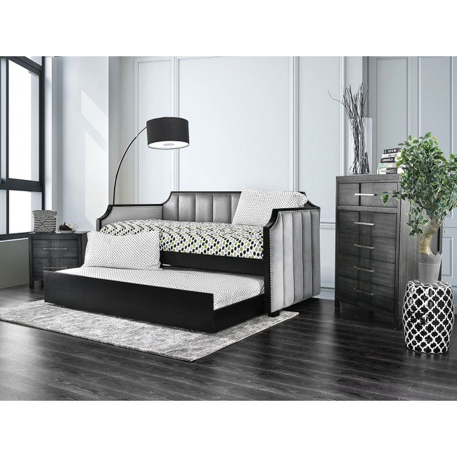 costanza daybed bedroom set gray