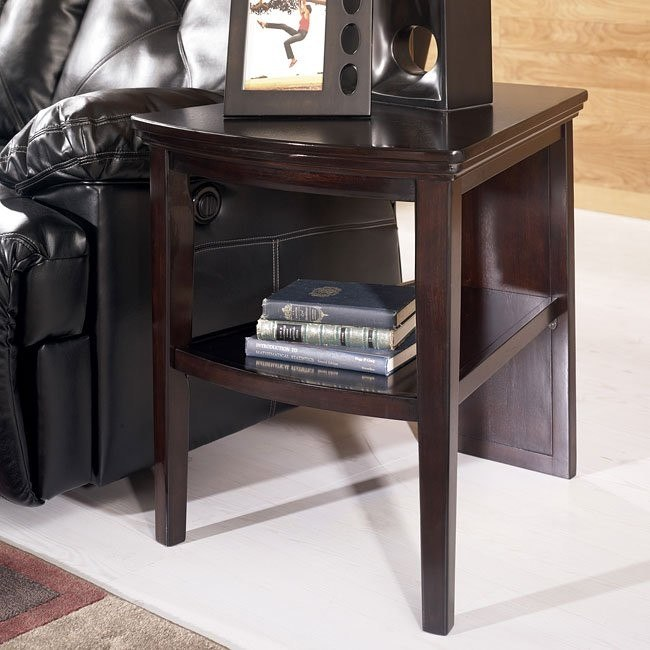 martini suite wedge end table