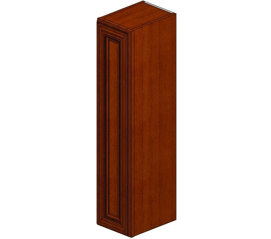 W0942 Sienna Rope Wall Cabinet