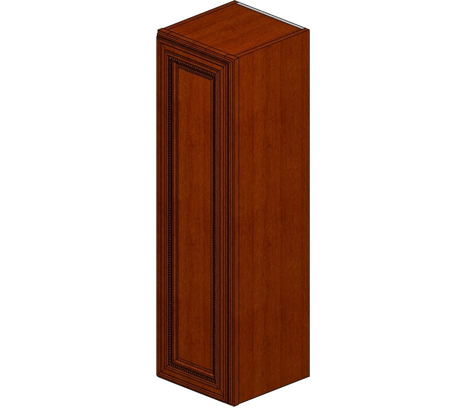 W1242 Sienna Rope Wall Cabinet
