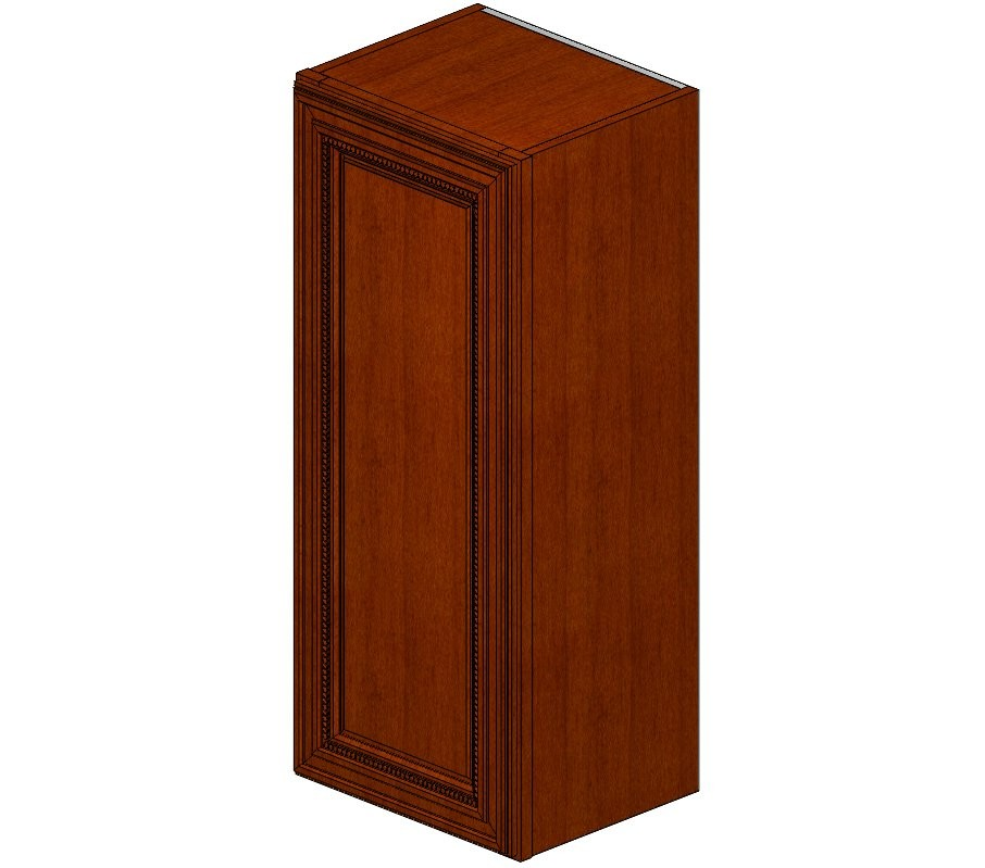 W1536 Sienna Rope Wall Cabinet
