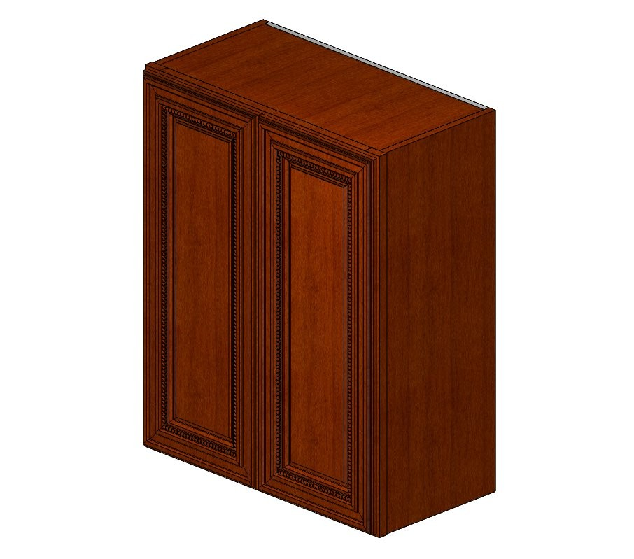 W2430B Sienna Rope Wall Cabinet