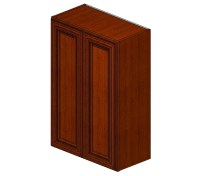 W2436B Sienna Rope Wall Cabinet