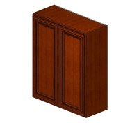 W3036B Sienna Rope Wall Cabinet