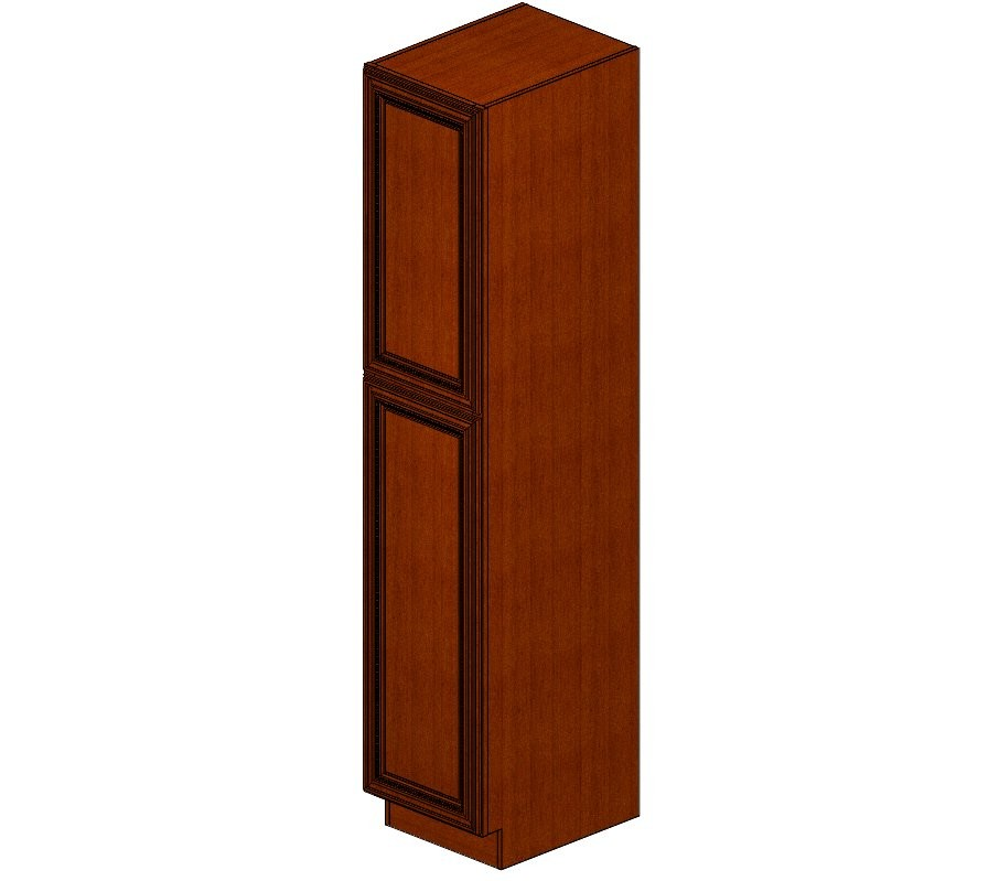 WP1890 Sienna Rope Wall Pantry Cabinet