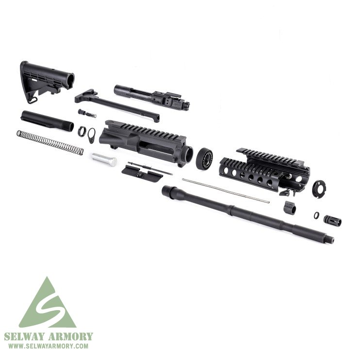 AR15 Rifle Kit without Lower Parts Kit 5.56x45mm NATO 1 in