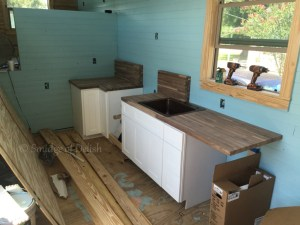 Tiny house counter tops